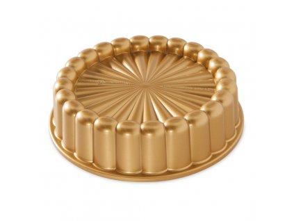 Forma na bábovku CHARLOTTE 6 cup zlatá Nordic Ware
