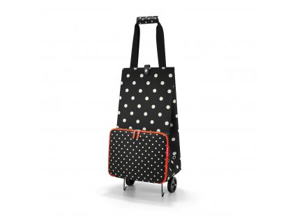 Taška na kolečkách FOLDABLETROLLEY mixed dots Reisenthel