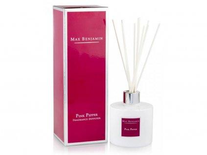 Aroma difuzér CLASSIC Pink Pepper 150 ml MAX BENJAMIN