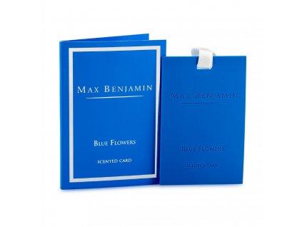 Vonná karta Classic Blue Flowers MAX BENJAMIN