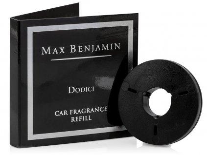 MAX BENJAMIN náhradní vůně do auta Classic Dodici