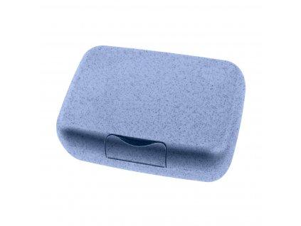 Box na svačinu CANDY L ORGANIC, modrý Koziol
