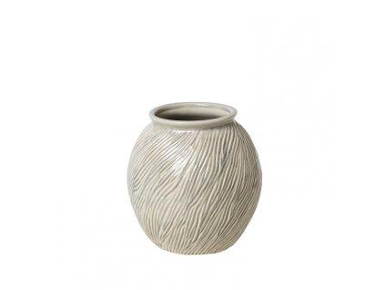 Váza SANDY v. 21 cm, béžová Broste