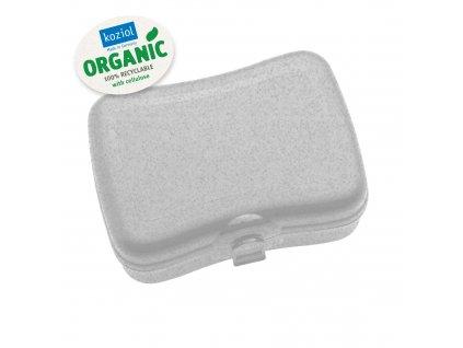 Box na svačinu BASIC ORGANIC šedý, Koziol