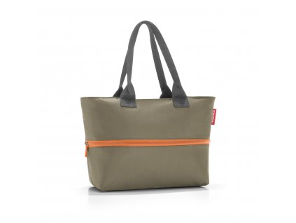 Chytrá taška přes rameno SHOPPER e1, olive green Reisenthel