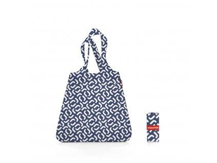 Skládací taška mini maxi SHOPPER signature navy, Reisenthel