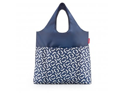 Skládací taška mini maxi Shopper plus, signature navy Reisenthel