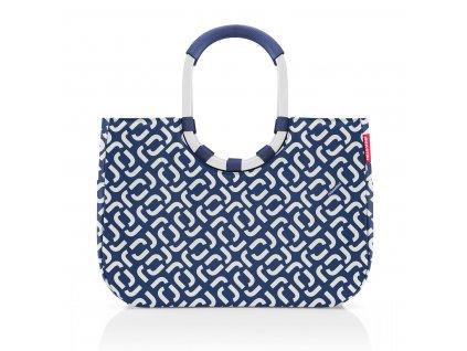 Nákupní taška LOOPSHOPPER L signature navy, Reisenthel