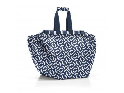 Nákupní taška do vozíku EASYSHOPPINGBAG signature navy, Reisenthel