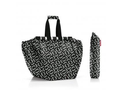 Nákupní taška do vozíku EASYSHOPPINGBAG signature black, Reisenthel
