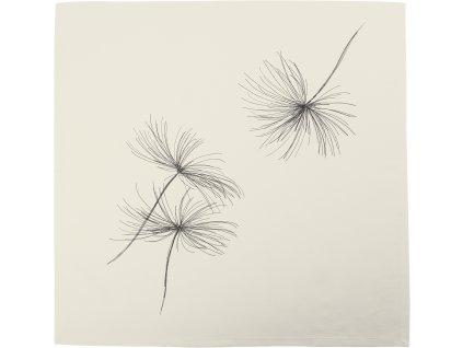 Ubrus WHITE BLOW 85 x 85 cm, Sander