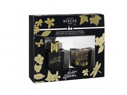 Difuzér a vonná svíčka set LOLITA LEMPICKA, černá Maison Berger Paris