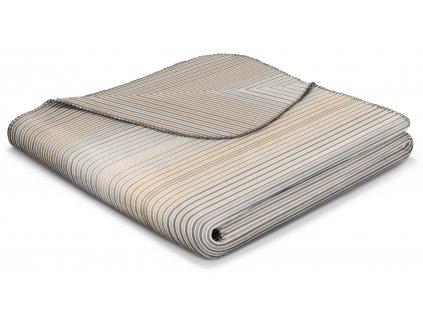 Deka LINES CASHEW 150 x 200 cm, Biederlack 3