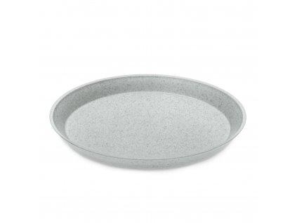 Talíř dezertní CONNECT ORGANIC 20,5 cm, šedý Koziol