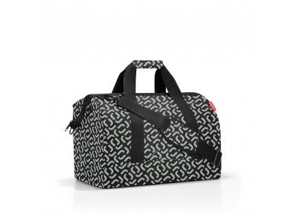 Cestovní taška ALLROUNDER L signature black, Reisenthel