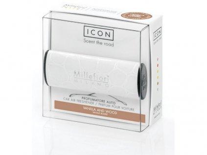 Millefiori Icon vůně do auta Vanilla & Wood, Urban