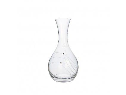 Karafa na víno s krystaly Swarovski, 1200 ml