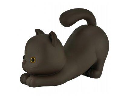 MTM pokladnička Líná kočka, hnědá