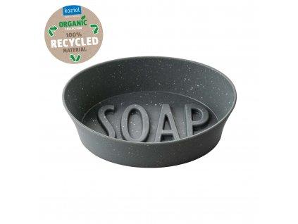 Koziol mýdlenka SOAP Organic, šedá