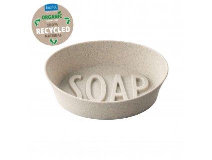 Koziol mýdlenka SOAP Organic, béžová