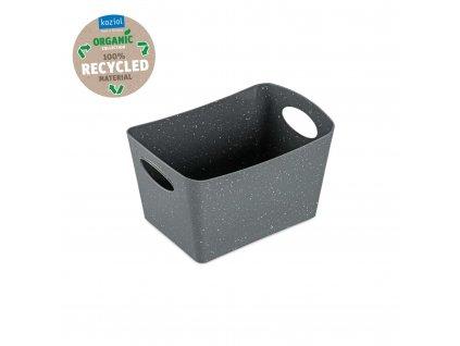 Koziol úložný box BOXXX S Organic 1l, šedý