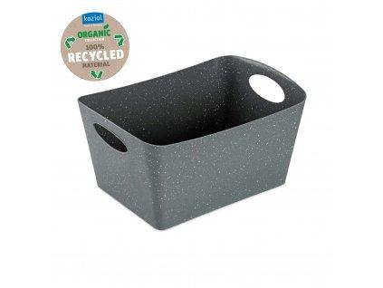 Koziol úložný box BOXXX M Organic 3,5l, šedý