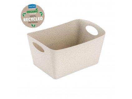 Koziol úložný box BOXXX M Organic 3,5l, béžový