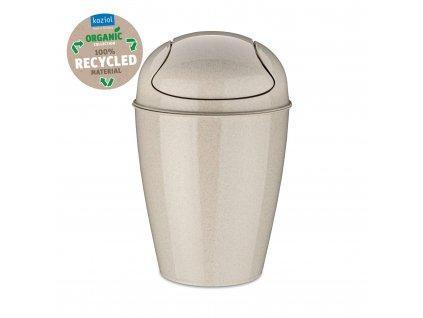 Koziol odpadkový koš SWING DEL S Organic 5l, béžový