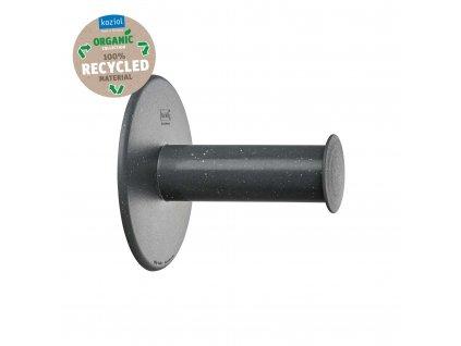 Koziol držák na toaletní papír PLUGNROLL Organic, šedý