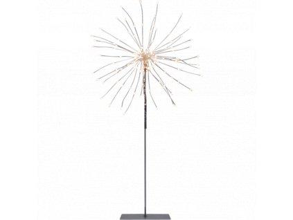 Star trading stolní LED dekorace FIREWORK, stříbrná