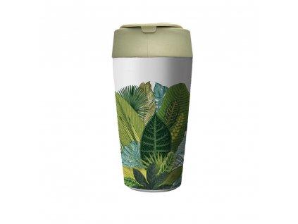 Chic.Mic cestovní hrnek Bioloco plant Deluxe, Exotic leaves