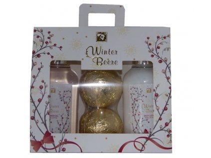 Dárková kosmetická sada v taštičce Winter Beere 4 dílná, Salsa Collection