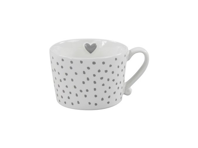 HRNEK MUG WHITE DOTS BASTION COLLECTIONS