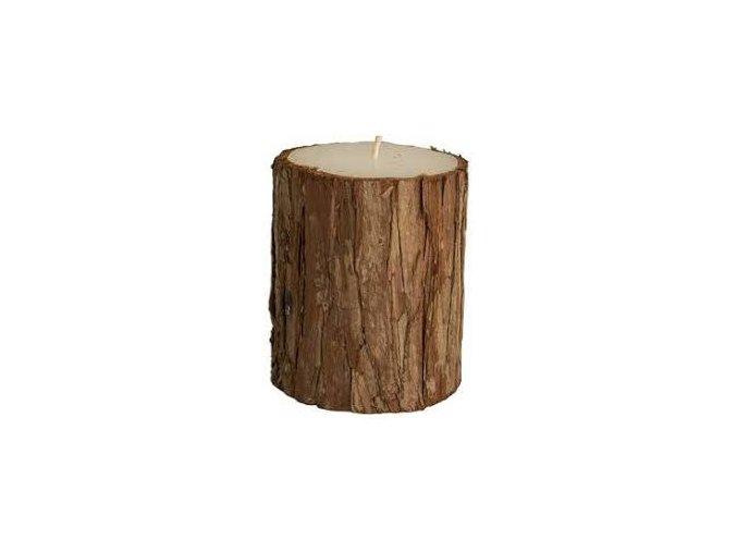Svíčka s kůrou