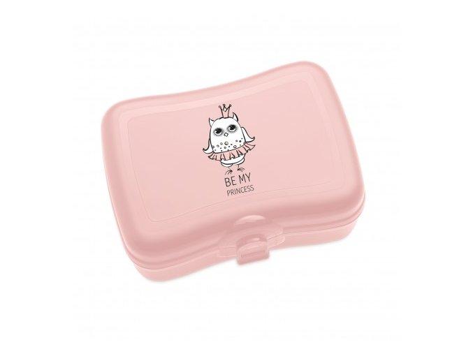Jídelní box chlebníček ELLI růžový Koziol