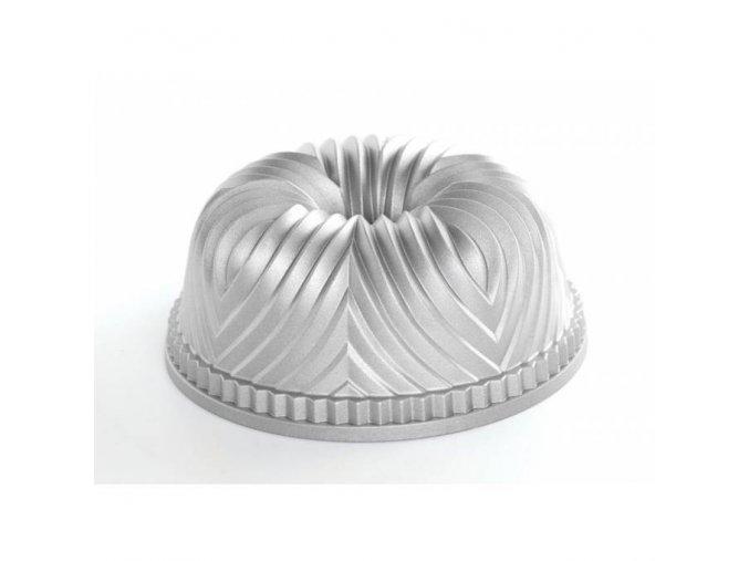 Forma na bábovku BAVARIA 10 cup stříbrná Nordic Ware 2