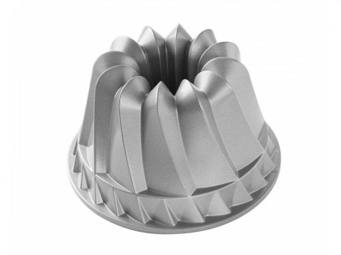 Forma na bábovku KUGELHOPF 10 cup stříbrná Nordic Ware