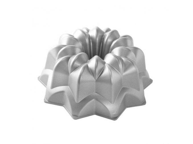 Forma na bábovku VINTAGE STAR 10 cup stříbrná Nordic Ware