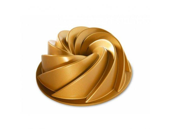 Forma na bábovku HERITAGE 10 cup zlatá Nordic Ware