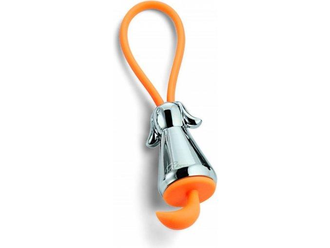 Přívěšek na klíče PES stříbrný Philippi
