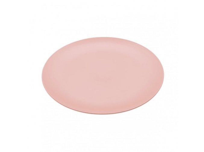 Talíř RONDO mělký růžový 26,2 cm Koziol
