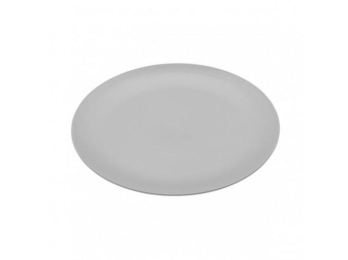 Talíř RONDO mělký šedý 26,2 cm Koziol