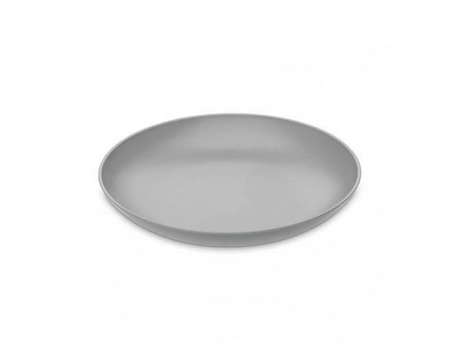 Talíř RONDO hluboký šedý 20,9 cm Koziol