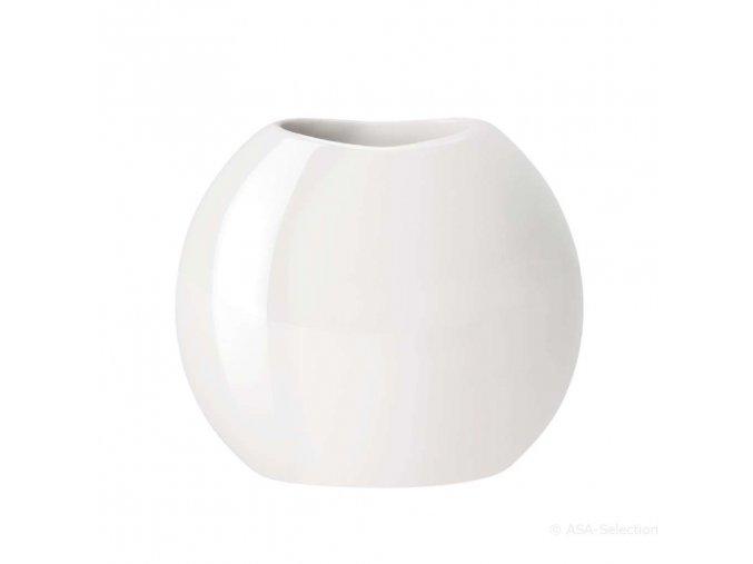 Váza MOON 15 cm bílá ASA Selection