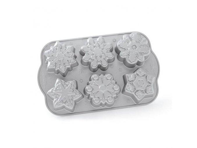 Forma na mini bábovky Sněhové vločky Nordic Ware