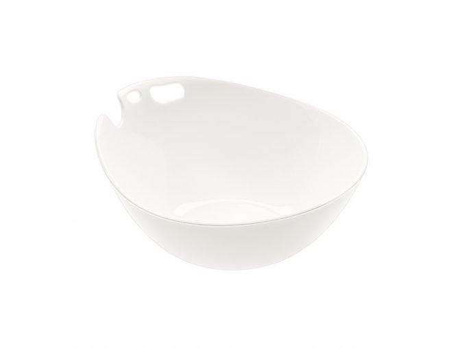 Miska SHADOW bílá 0,5 l Koziol