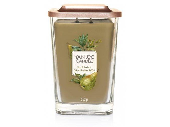Yankee Candle vonná svíčka ELEVATION Pear & Tea Leaf sklo velké