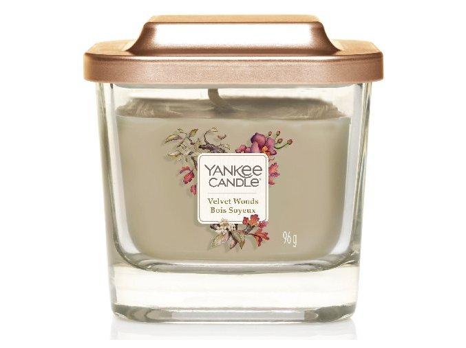 Yankee Candle vonná svíčka ELEVATION Velvet Woods malá