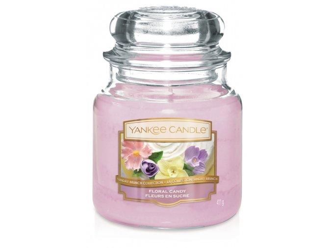 Yankee Candle vonná svíčka Classic střední Floral Candy
