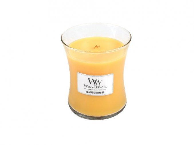 WoodWick vonná svíčka sklo střední SEASIDE MIMOSA